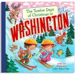 Sterling Picture Books - The Twelve Days of Christmas in Washington Hardcover found on Bargain Bro India from zulily.com for $8.49