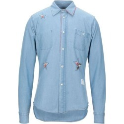 Denim Shirt - Blue - Saucony Shirts found on Bargain Bro India from lyst.com for $133.00