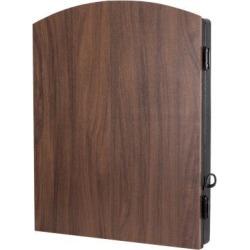 Arachnid Cricketmaxx 3 Piece 1.0 Electronic Dartboard Cabinet Set in Black/Red, Size 28.0 H x 18.0 W x 3.0 D in   Wayfair CMX1000 found on Bargain Bro from Wayfair for USD $86.61