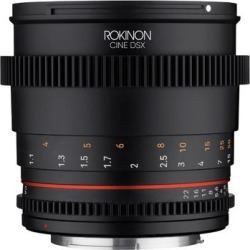 Rokinon 85mm T1.5 Cine DSX High Speed Lens for MFT found on Bargain Bro Philippines from Overstock for $449.00