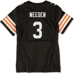 Nike Womens Cleveland Browns Weeden Jersey found on Bargain Bro from Overstock for USD $33.66