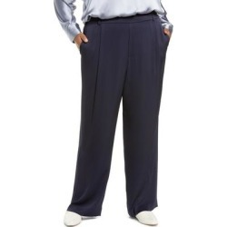 Wide Leg Pants - Blue - Vince Pants found on Bargain Bro from lyst.com for USD $247.00