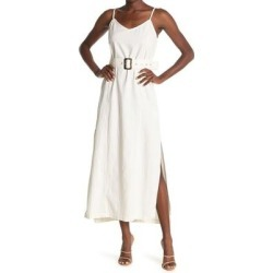 Landry Belted Maxi Dress - White - Baldwin Denim Dresses found on MODAPINS from lyst.com for USD $60.00