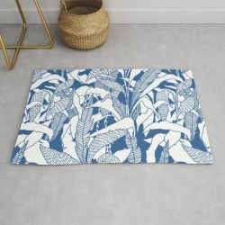 Modern Throw Rug | Tropical Blues by Ambers Textiles - 2' x 3' - Society6 found on Bargain Bro from Society6 for USD $29.79