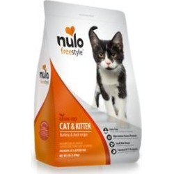 Nulo Freestyle Turkey & Duck Recipe Grain-Free Dry Cat & Kitten Food, 4-lb bag found on Bargain Bro from Chewy.com for USD $12.92
