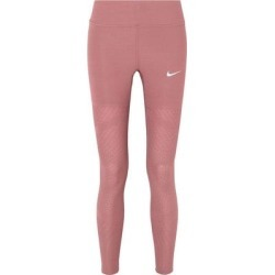 Leggings - Brown - Nike Pants found on Bargain Bro from lyst.com for USD $53.20