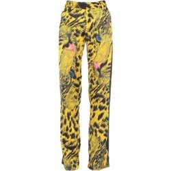 Casual Pants - Yellow - MSGM Pants found on MODAPINS from lyst.com for USD $189.00