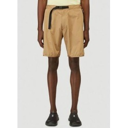 Logo Patched Belted Bermuda Shorts - Natural - Moncler Shorts found on Bargain Bro from lyst.com for USD $179.36