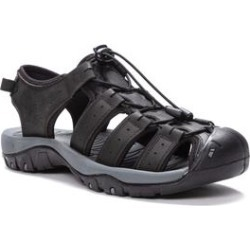Men's Men's Kona Fisherman Sandals by Propet in Black (Size 11 M) found on Bargain Bro Philippines from fullbeauty for $69.99