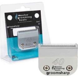 Master Grooming Tools GroomSharp Steel Pet Grooming Blade, Size 40