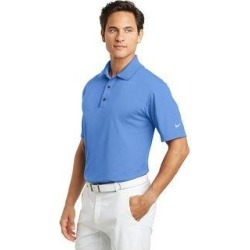 Nike Men's Basic DRI-FIT Polo Assorted Colors (XS - University Blue)(knit, embroidered) found on Bargain Bro India from Overstock for $56.99