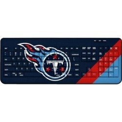 Tennessee Titans Diagonal Stripe Wireless Keyboard found on Bargain Bro from nflshop.com for USD $45.59