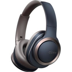 Cleer Audio Enduro wireless noise-cancelling headphones (navy) found on Bargain Bro from Crutchfield for USD $113.99