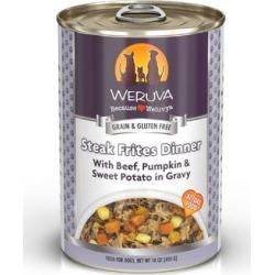 Weruva Classics Steak Frites With Beef, Pumpkin & Sweet Potato in Gravy Wet Dog Food, 14 oz.