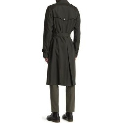 Cargo Trench Coat - Black - Valentino Coats found on Bargain Bro India from lyst.com for $800.00