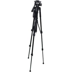 VIVITAR Tripod Camera Holder Accessory in Black, Size 4.25 H x 4.8 W x 24.75 D in | Wayfair VIVVPT3662 found on Bargain Bro from Wayfair for USD $23.68