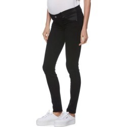 Transcend Verdugo Skinny Maternity Jeans - Black - PAIGE Jeans found on Bargain Bro India from lyst.com for $199.00