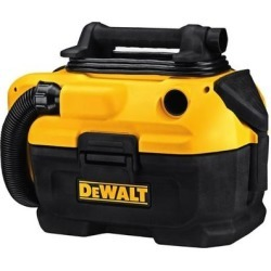 DeWalt 2 gal. Corded/Cordless Wet/Dry Vacuum 20 volt Yellow 11.1 lb. found on Bargain Bro India from Overstock for $197.99