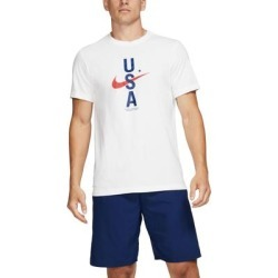 Nike Mens USA T-Shirt Graphic Short Sleeve found on Bargain Bro from Overstock for USD $16.64