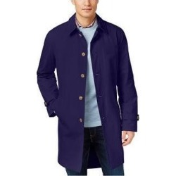 Tommy Hilfiger Mens Finn Raincoat (44S), Men's, Blue(cotton, solid) found on Bargain Bro Philippines from Overstock for $196.43