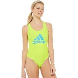 Women's adidas Crossback One-Piece Swimsuit, Size: Medium, Brt Green found on Bargain Bro from Kohl's for USD $46.82