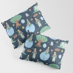 Pillow Sham   The Little Prince by Sara Maese - STANDARD SET OF 2 - Cotton - Society6 found on Bargain Bro from Society6 for USD $30.39