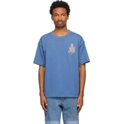1 Moncler Jw Anderson Blue Gradient Logo T-shirt - Blue - Moncler Genius T-Shirts found on Bargain Bro Philippines from lyst.com for $335.00
