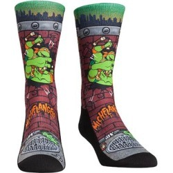 Rock Em Apparel Socks - TMNT Maroon Michelangelo Breakout Socks - Kids & Adult found on Bargain Bro Philippines from zulily.com for $11.99