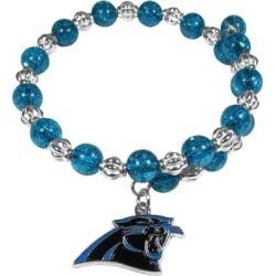 Women's Carolina Panthers 400 Degrees Beaded Bracelet found on Bargain Bro from nflshop.com for USD $22.79
