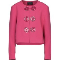 Suit Jacket - Pink - Boutique Moschino Jackets found on MODAPINS from lyst.com for USD $450.00