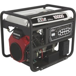 NorthStar Portable Generator with Honda GX630 OHV Engine - 10,000 Surge Watts, 8500 Rated Watts, Electric Start, CARBCompliant