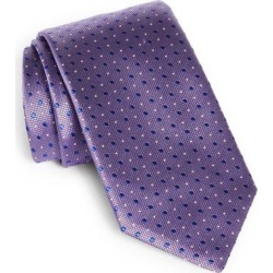 Polka Dot Silk Tie - Purple - Canali Ties found on Bargain Bro India from lyst.com for $160.00