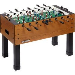 Carrom Burr Oak PREASSEMBLED Foosball Table Soccer Model , Brown found on Bargain Bro Philippines from Overstock for $999.98
