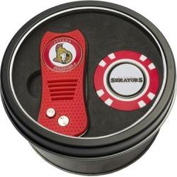 Ottawa Senators Divot Tool & Golf Chip Personalized Tin Gift Set found on Bargain Bro India from Fanatics for $29.99