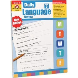 Evan-Moor Educational Publishers Educational Workbooks - Grade 2 Daily Language Review Workbook found on Bargain Bro from zulily.com for USD $10.44