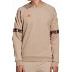 Adidas Mens Sweatshirt Tan Beige Large L Logo Raglan Crewneck Pullover found on Bargain Bro from Overstock for USD $44.82