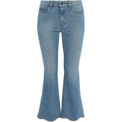 Denim Trousers - Blue - MiH Jeans Jeans found on MODAPINS from lyst.com for USD $194.00