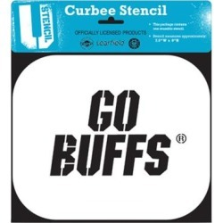 Colorado Buffaloes Curbee Team Stencil found on Bargain Bro Philippines from Fanatics for $21.99
