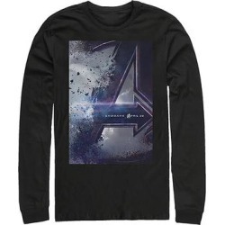 Fifth Sun Men's Sweatshirts and Hoodies BLACK - Black Endgame Movie Poster Sweatshirt - Men found on Bargain Bro from zulily.com for USD $21.27