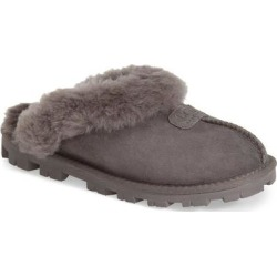 UGG Genuine Shearling Slipper - Gray - Ugg Flats found on Bargain Bro from lyst.com for USD $91.20