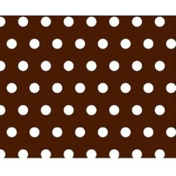 Isabelle & Max™ Polka Dots Play YardSheetCotton in Brown, Size 37.5 W x 37.5 D in   Wayfair JV-W912 found on Bargain Bro Philippines from Wayfair for $39.99