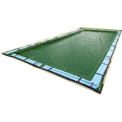 Blue Wave 12-Year Rectangular In Ground Winter Pool Cover found on Bargain Bro Philippines from Overstock for $97.49