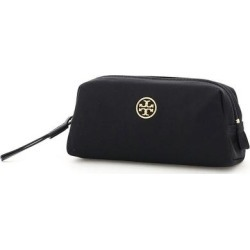 Piper Mini Cosmetic Case - Black - Tory Burch Cases found on MODAPINS from lyst.com for USD $77.00