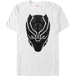 Fifth Sun Men's Tee Shirts WHITE - Black Panther White Geometric Tats Tee - Men found on Bargain Bro Philippines from zulily.com for $15.99