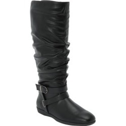 Women's The Arya Wide Calf Boot by Comfortview in Black (Size 9 1/2 M) found on Bargain Bro Philippines from Woman Within for $97.99