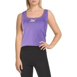 Puma Womens Tank Top Fitness Yoga - Mist Green - XS (Purple Corallites - XS), Women's(cotton) found on Bargain Bro India from Overstock for $13.99
