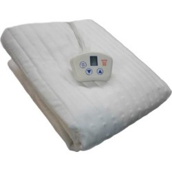 Electrowarmth Heated 1-control Twin Extra Long-size Electric Mattress Pad (Electrowarmth Twin Extra Long Single Control), White found on Bargain Bro from Overstock for USD $89.98