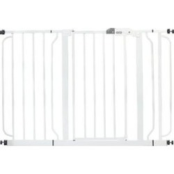 Regalo Easy Step Extra Wide Dog Gate, 49-in, White found on Bargain Bro India from Chewy.com for $44.99