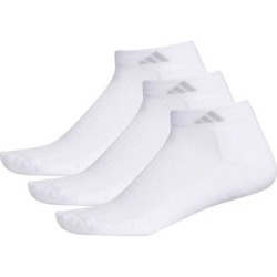 Adidas Women's Cushioned II 3-Pack Low Cut Sock, Size: 9-11, White found on Bargain Bro India from Kohl's for $14.00