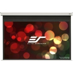 Elite Screens EvanesceElectric Projector Screen in White, Size 49.0 H x 87.2 W x 7.1 D in | Wayfair EB100HW2-E12 found on Bargain Bro Philippines from Wayfair for $655.41